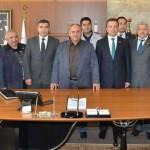 Ümraniye Belediye Başkanı Hasan Can'a Hayırlı Olsun Ziyareti