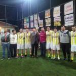 Halı Saha Futbol Müsabakaları Sona Erdi