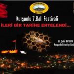 7. Bal Festivali İleri Tarihe Ertelendi