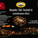 Kurşunlu 7.Bal Festivaline Davet