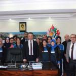 Belediye Başkanımız Halk Oyunları İl Birincilerini Kabul Etti