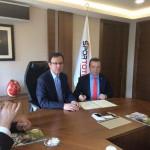 İlçemize Yapılacak Tesisler İçin Spor Toto İle Anlaşma İmzalandı