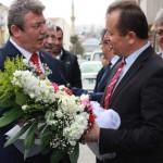 Milletvekili Adayı Muhammed Emin Akbaşoğlu'ndan Ziyaret