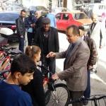 29 Ekim Cumhuriyet Bayramı Atletizm Yarışmalarında Dereceye Girenlere Bisiklet Hediye Ettik