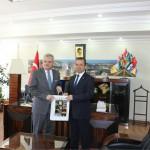 Vali Özcan'dan Başkana hayırlı olsun ziyareti