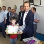 Belediye Başkanı Şakir Kaymak Karne Dağıtım Törenlerine Katıldı.