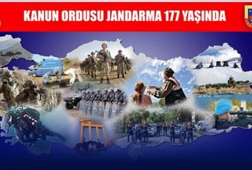 Jandarma Teşkilatının 177. Kuruluş Yıldönümü Kutlama Mesajı