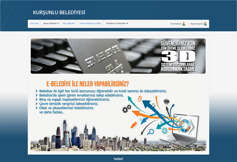 e-belediye-ekran